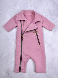 """Трикотажний чоловічок з махровою ниткою всередині """"Vortex"""" (рожевий),1203"""