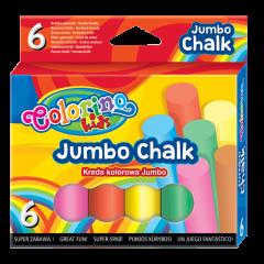 Кольорова крейда Jumbo 6 шт., 65818PTR Colorino