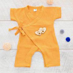 Мусліновий пісочник для дитини (гірчичний), Minikin 2011114