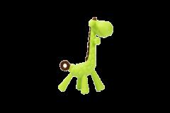 """Прорізувач для зубів у контейнері """"Жираф"""" , зелений, Lindo LI 330"""
