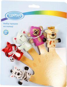 Набір іграшок на пальці, Lindo Р 265