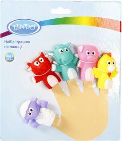 Набір іграшок на пальці, Lindo Р 268