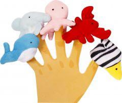 Набір іграшок на пальці (морські мешканці), Lindo Р 266