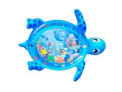 Розвиваючий ігровий килимок з водою «Черепаха», (синій) Lindo F2011