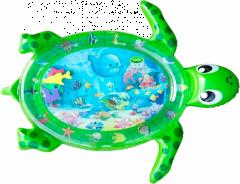 Розвиваючий ігровий килимок з водою «Черепаха», (зелений) Lindo F2011