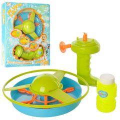 Літаюча тарілка з мильними бульбашками, Long Bin Toys 0605