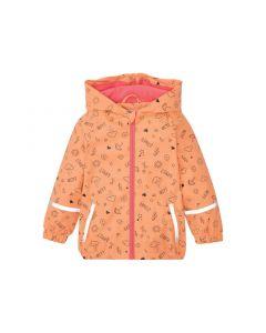 Стильна курточка-дощовик для дівчинки