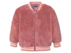 Плюшева куртка для дівчинки