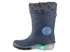 Гумові чоботи для дитини (світяться при ходьбі)