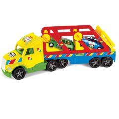 Вантажівка з авто-купе Magic Truck Basic, Wader 36360