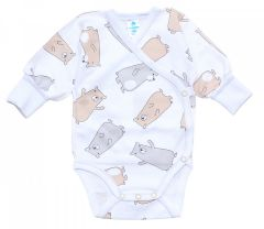 Трикотажна боді-льоля для малюка (ведмедики), 2011003