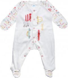 Трикотажный человечек для малыша (машинки), MINIKIN 205603