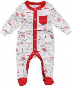 Трикотажный человечек для малыша (машинки), MINIKIN 205803