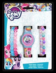 Набір аксесуарів для дівчинки (годинник + браслети), My little Pony, MLP17013