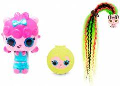 Ігровий набір Pop Pop Hair Surprise - Модна зачіска (лялька з блакитним бантом), 561873