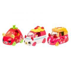 """Набір ігрових міні-машинок """"Італійські пригоди"""" CUTIE CARS (3 шт.), Moose SHOPKINS 57137"""