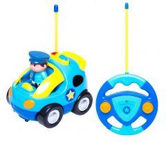 "Інтерактивна машинка ""Моя перша поліцейська машина"" на Р/К, BeBeLino 58039"