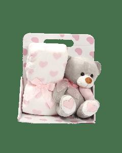 Подарунковий набір: плед і іграшка, МТ004