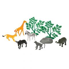 "Набір тваринок ""Зоопарк"" (з жирафою), Simba 104341202"