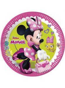 Паперові тарілки Minnie Mouse/Міні Маус 23 см  (8 шт), 87860