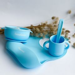 Набір дитячого посуду,Baby Blue,Баловень