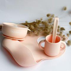 Набір дитячого посуду,Soft Pink,Баловень