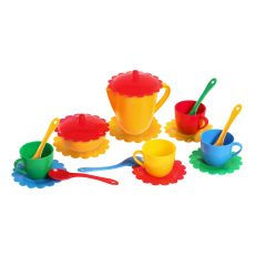 """Набір іграшкового посуду """"Ромашка"""", Tigres 39091"""
