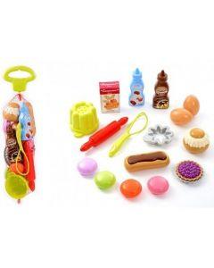 "Набір продуктів ""Смачний десерт"" 16 ел., Ecoiffier 000952"
