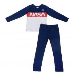"""Трикотажна піжама для хлопчика """"Nasa"""", 52 04 140 (синя)"""