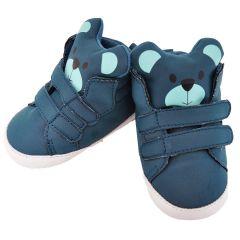 Пінетки-чобітки для дитини (сині) ОВ-123