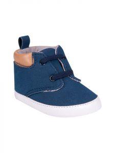 Пінетки-чобітки для дитини (сині) ОВ-090