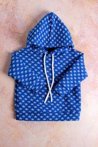 Трикотажний світшот для дитини (синій), a-06-3037-29-v