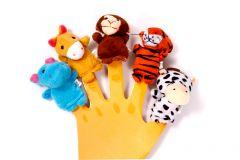Набір іграшок на пальці, Lindo Р 266
