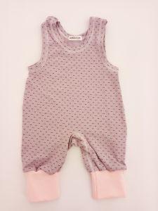 Трикотажний комбінезон-повзунки для дитини (фіолетово-рожевий), 1232 Mokkibym