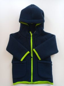 Вовняна курточка-худі для дитини, M163408/М162008 Mokkibym