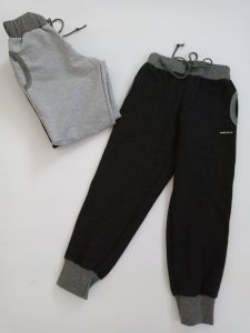 Спортивні штанята для дитини (1шт.,чорні), 11613 Mokkibym