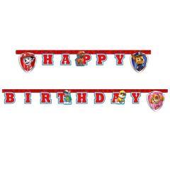 """Банер """"Happy Birthday"""" Paw Patrol / Щенячий патруль, 89978"""