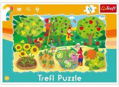 """Пазли рамкові """"В саду"""", Trefl 31218"""