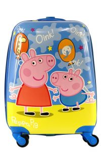 """Дитяча пластикова валіза """"Свинка Пеппа"""", Peppa Pig"""