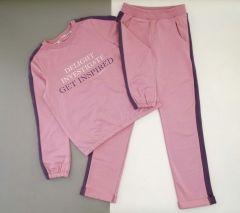 Трикотажний комплект  для дівчинки (рожевий), Robinzone КС-382/387