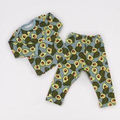 Трикотажна піжама для дитини (авокадо), Coolton