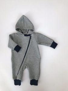 Плотный трикотажный человечек для ребенка, М281344 Mokkibym