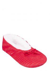Домашні тапочки для дівчинки, червоні BL-66