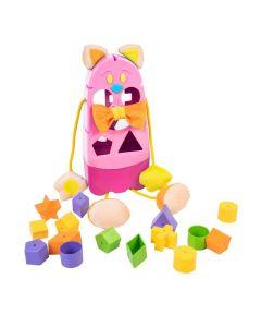 """Розвиваюча іграшка-сортер """"Котик"""", Tigres 39290 (в коробці)"""