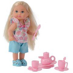 Лялька Еві і міні набір аксесуарів (чаювання), Evi Love 105734830