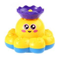 """Іграшка для купання """"Восьминіг-фонтан"""" (червоний), BeBeLino 58050"""