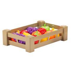 """Ящик c продуктами """"Урожай"""" , Ecoiffier 000948 (фрукти)"""