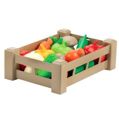 """Ящик c продуктами """"Урожай"""" , Ecoiffier 000948 (овочі)"""
