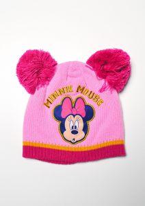 "Шапка ""Minnie Mouse"" для девочки, розовая, D-40789"