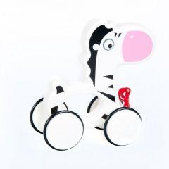 Іграшка на колесах Зебра, BamBam, B1155648